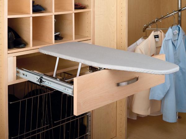 Встроенные гладильные доски для шкафа-купе